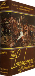 Books:Signed Editions, J. Frank Dobie. The Longhorns. Boston: Little, Brown andCompany, 1941. First trade edition. Signed by Dobie...