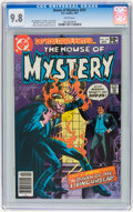 Modern Age (1980-Present):Horror, House of Mystery #291 (DC, 1981) CGC NM/MT 9.8 White pages....