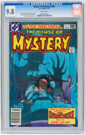 Modern Age (1980-Present):Horror, House of Mystery #294 (DC, 1981) CGC NM/MT 9.8 White pages....