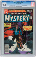 Modern Age (1980-Present):Horror, House of Mystery #295 (DC, 1981) CGC NM/MT 9.8 White pages....