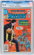 Modern Age (1980-Present):Horror, House of Mystery #302 (DC, 1982) CGC NM/MT 9.8 White pages....