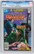 Modern Age (1980-Present):Horror, House of Mystery #306 (DC, 1982) CGC NM/MT 9.8 White pages....