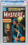 Modern Age (1980-Present):Horror, House of Mystery #282 (DC, 1980) CGC NM/MT 9.8 White pages....