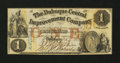 Obsoletes By State:Iowa, Dubuque, IA- The Dubuque Central Improvement Company $1 Feb. 1,1858. ...