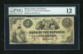 Obsoletes By State:Rhode Island, Providence, RI- Bank of the Republic $2 Nov. 3, 1855. ...