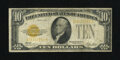 Small Size:Gold Certificates, Fr. 2400 $10 1928 Gold Certificate. Very Good-Fine.. The edges and paper are nice for the grade....