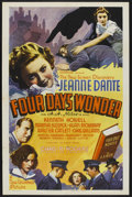 "Movie Posters:Mystery, Four Days' Wonder (Universal, 1936). One Sheet (27"" X 41"").Mystery. Starring Jeanne Dante, Kenneth Howell, Martha Sleeper, ..."