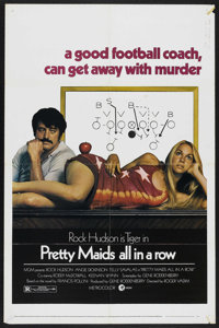 """Pretty Maids All in a Row (MGM, 1971). One Sheet (27"""" X 41""""). Comedy. Starring Rock Hudson, Angie Dickinson, J..."""