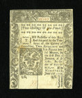 Colonial Notes:Connecticut, Connecticut June 7, 1776 2s/6d Slash Cancel Choice New....