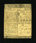 Colonial Notes:Delaware, Delaware June 1, 1759 20s Very Fine-Extremely Fine....