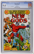 Bronze Age (1970-1979):Science Fiction, The New Gods #10 (DC, 1972) CGC NM/MT 9.8 White pages....