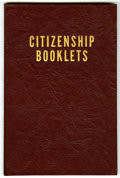 Golden Age (1938-1955):Miscellaneous, Harvey Citizenship Comics Bound Volume (Harvey, 1947-52)....