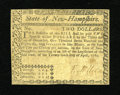Colonial Notes:New Hampshire, New Hampshire April 29, 1780 $2 Uncanceled Very Fine....