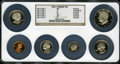 Proof Sets: , 1981-S Type 2 1C Proof Set NGC. The Set Includes 1981-S Cent PR69RD Deep Cameo; 1981-S Nickel PR69 Deep Cameo; 1981-S 10...