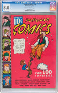 Platinum Age (1897-1937):Miscellaneous, Popular Comics #10 (Dell, 1936) CGC VF 8.0 Cream to off-white pages....
