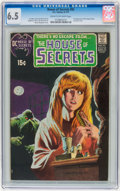Bronze Age (1970-1979):Horror, House of Secrets #92 (DC, 1971) CGC FN+ 6.5 Cream to off-whitepages....