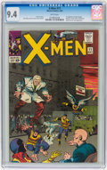 Silver Age (1956-1969):Superhero, X-Men #11 (Marvel, 1965) CGC NM 9.4 White pages....