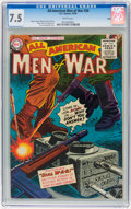 Golden Age (1938-1955):War, All-American Men of War #26 Salida pedigree (DC, 1955) CGC VF- 7.5White pages....