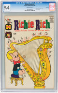 Silver Age (1956-1969):Humor, Richie Rich #25 File Copy (Harvey, 1964) CGC NM 9.4 Off-white pages....