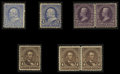 Stamps, 1c - 8c (246//280),... (Total: 3 Card)