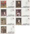 Autographs:Letters, 1979-1981 Gateway World Series First Day Covers with 6 Signed. ...