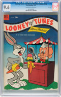 Golden Age (1938-1955):Cartoon Character, Looney Tunes and Merrie Melodies Comics #144 File Copy (Dell, 1953)CGC NM+ 9.6 Off-white pages....