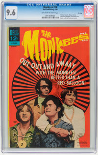 The Monkees #14 File Copy (Dell, 1968) CGC NM+ 9.6 Off-white to white pages