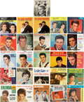 Music Memorabilia:Recordings, Rock & Pop Icons 45 w/Picture Sleeve Group of 26 (1957-65)....(Total: 26 Items)