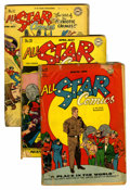 Golden Age (1938-1955):Superhero, All Star Comics Group (DC, 1945-49) Condition: Average FR.... (Total: 6 Comic Books)