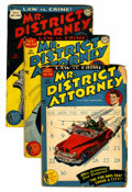 Golden Age (1938-1955):Crime, Mr. District Attorney #1-8 Group (DC, 1948-49) Condition: Average GD/VG.... (Total: 8 Comic Books)
