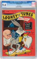 Golden Age (1938-1955):Cartoon Character, Looney Tunes and Merrie Melodies Comics #129 File Copy (Dell, 1952)CGC NM 9.4 Off-white pages....