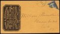 Stamps, (1867), March 2, Easton, Pa....