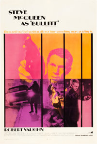 "Bullitt (Warner Brothers, 1968). International One Sheet (27"" X 41"")"