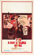 "Movie Posters:Western, For a Few Dollars More (United Artists, 1967). Window Card (14"" X 22"").. ..."