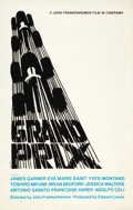 "Movie Posters:Sports, Grand Prix (MGM, 1967). Silk-Screened Poster (25"" X 39.5"").. ..."