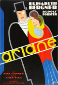 "Movie Posters:Drama, Ariane (Nero-Film, 1931). Swedish One Sheet (26.5"" X 39"").. ..."
