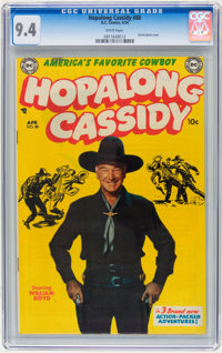Hopalong Cassidy #88 (DC, 1954) CGC NM 9.4 White pages