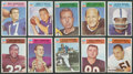 Football Cards:Sets, 1966 Philadelphia Football Complete Set (198)....