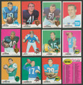 Football Cards:Sets, 1969 Topps Football Complete Set (263)....