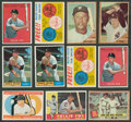 Baseball Cards:Lots, 1957-1962 Topps baseball Collection (143). ...