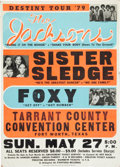 Music Memorabilia:Posters, The Jacksons with Michael Jackson Tarrant County Convention CenterConcert Poster (1979)....