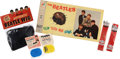 "Music Memorabilia:Memorabilia, Beatles Vintage ""Flip Your Wig"" Board Game and Other Memorabilia.... (Total: 6 )"