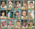 Baseball Cards:Sets, 1961 Topps Baseball Partial Set (329 Different, #'d 1-371)....