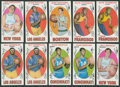 Basketball Cards:Lots, 1969-70 Topps Basketball Collection (98). ...