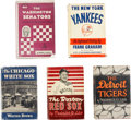 Baseball Collectibles:Others, 1946-1958 American League Baseball Books Lot of 5. ...