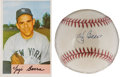 Autographs:Baseballs, Yogi Berra Single Signed Baseball. ... (Total: 2 items)