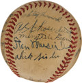 Autographs:Baseballs, 1946 St. Louis Cardinals Team Signed Baseball. ...