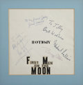 Movie/TV Memorabilia:Autographs and Signed Items, First Men on the Moon Autographs to Jilly Rizzo....