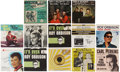 Music Memorabilia:Recordings, Rock Icons 45 and Picture Sleeve Group (1953-65).... (Total: 13 Items)