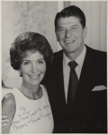 Movie/TV Memorabilia:Autographs and Signed Items, Ronald and Nancy Reagan Signed Photo....